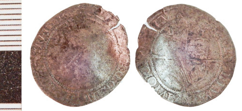 NLM-997154: Post-Medieval Coin: Threepence of Elizabeth I