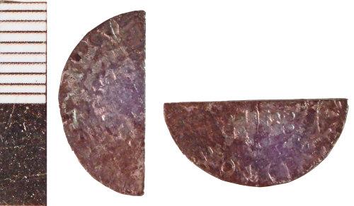 NLM-3FC4DC: Medieval Coin: Halfpenny of John