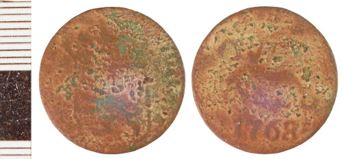 NLM-40048E: Post-Medieval Low Countries Coin