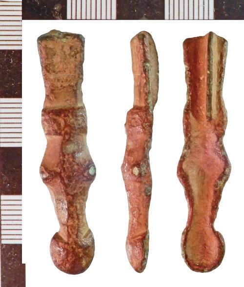 NLM-571F73: Early Medieval Cruciform Brooch fragment