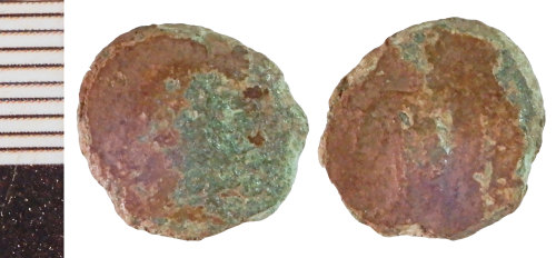 NLM-117BED: Roman Coin: Barbarous Radiate