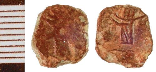 NLM-F69FE8: Roman Coin: Barbarous Radiate