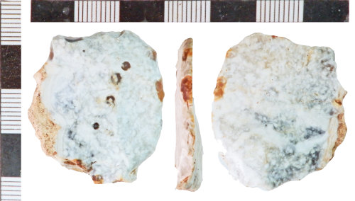 NLM-2D9AE9: Neolithic possible Backed Blade