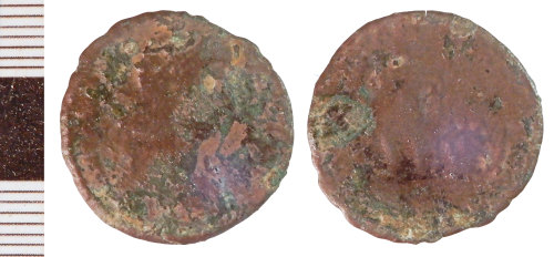 NLM-2E7FBE: Roman Coin: Nummus of the House of Constantine