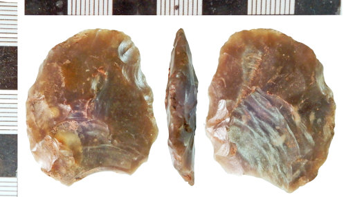 NLM-56B3CA: Neolithic Flint Knife