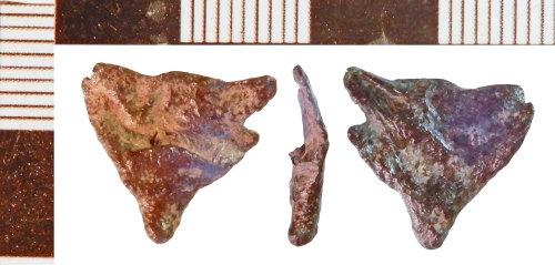 NLM-96C036: Medieval possible Scabbard Chape fragment