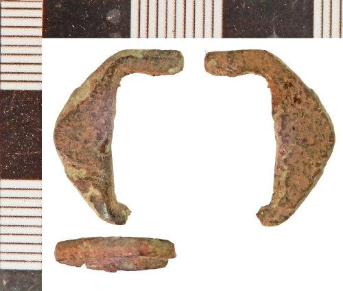 NLM-96CC30: Post-Medeieval Buckle fragment