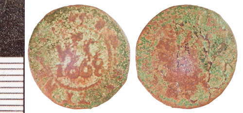 A resized image of Post-Medieval Token