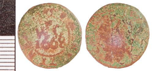 NLM-C02A69: Post-Medieval Token