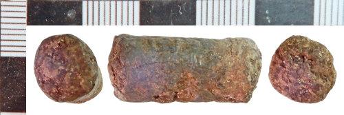NLM-C038B1: Post-Medieval Lead Rod fragment