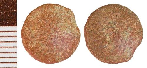 NLM-C057AE: Roman Coin: Radiate or Nummus indeterminate