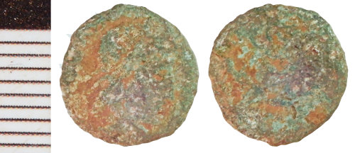 NLM-C0856B: Roman Coin: Nummus of the House of Constantine