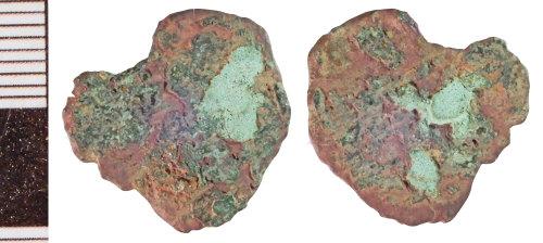 NLM-7DEDE7: Roman Coin: Radiate or Nummus indeterminate