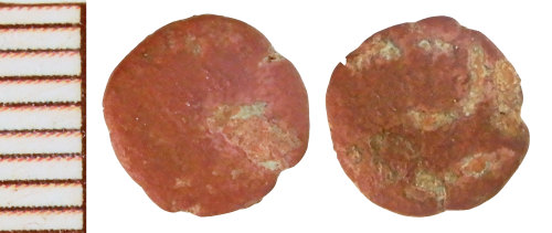 NLM-7E99A2: Roman Coin: Minim, Radiate or Nummus indeterminate