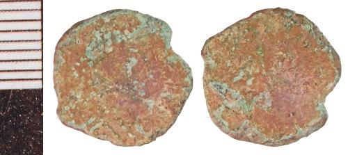 NLM-7EBB58: Roman Coin: Nummus of the House of Constantine