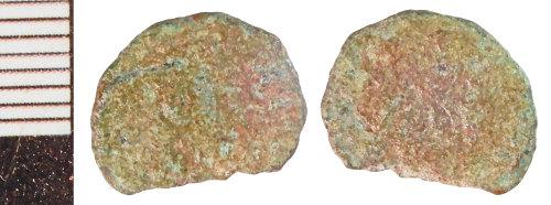 NLM-7ECBCD: Roman Coin: Nummus of the House of Constantine