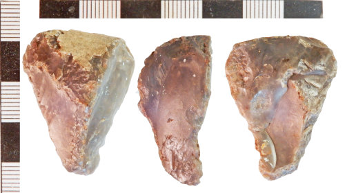 A resized image of Neolithic Scraper
