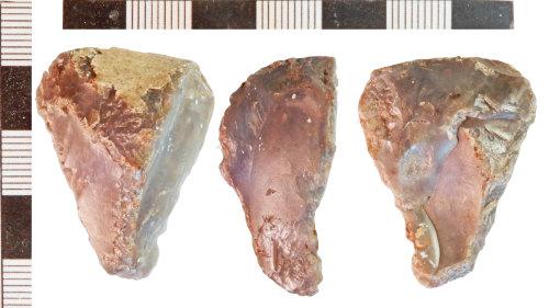 NLM-12D4B5: Neolithic Scraper