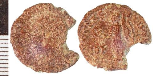 NLM-E0A6EB: Roman Coin: Nummus of Valentinian I