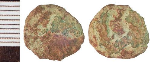 NLM-E0D26E: Roman Coin: Radiate or Nummus indeterminate