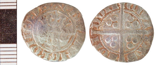 NLM-189C28: Medieval Coin: Penny of Edward I