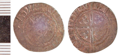 NLM-273FF4: Medieval Coin: Penny of Edward I
