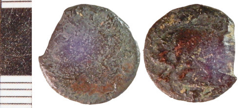 NLM-524475: Roman Coin: Nummus of the House of Constantine