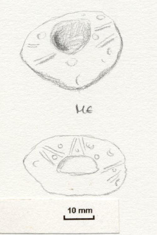 NLM5542: Post-Medieval Spindle Whorl