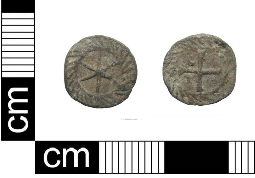 PUBLIC-4D197F: Medieval to post-medieval lead-alloy token