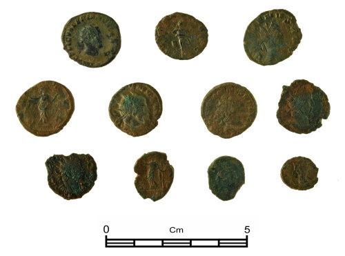 NMGW-C6A8B0: Roman coin hoard