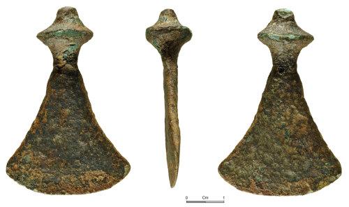 NMGW-EAB966: Bromze Age Copper Alloy Chisel