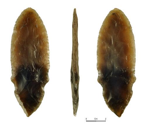NMGW-F4A584: Early Bronze Age flint dagger
