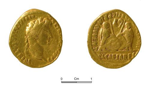 NMGW-981BC4: Roman gold coin