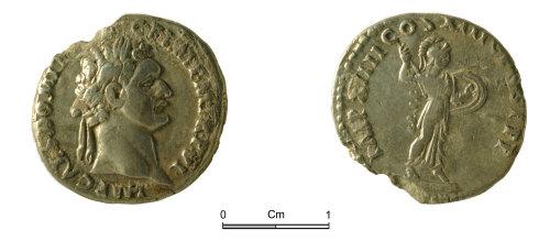 NMGW-FE230D: Domitian (AD 81-96) denarius, Rome