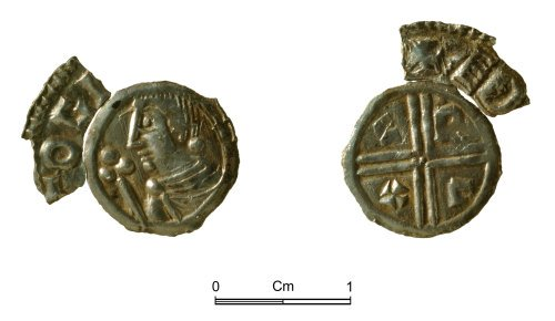 NMGW-B1A80D: Anglo-Saxon silver coin: Aethelraed II penny