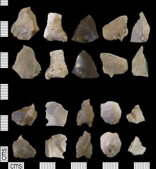 DUR-05E6DC: DUR-05E6DC: Debitage: Mesolithic