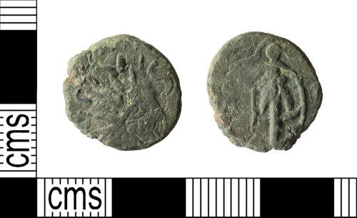 WILT-AF5FAD: Roman barbarous radiate copying Tetricus I or Tetricus II