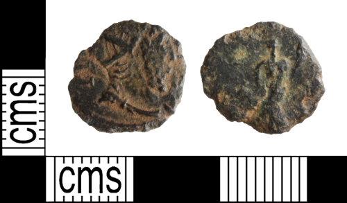 WILT-C9C25D: Gallienus  radiate