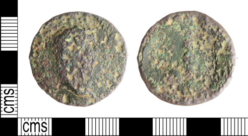 A resized image of Nero sestertius