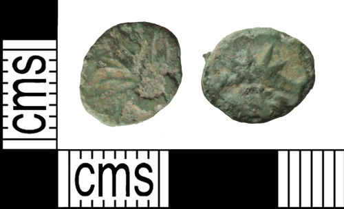WILT-FDC118: Barbarous radiate of Claudius II