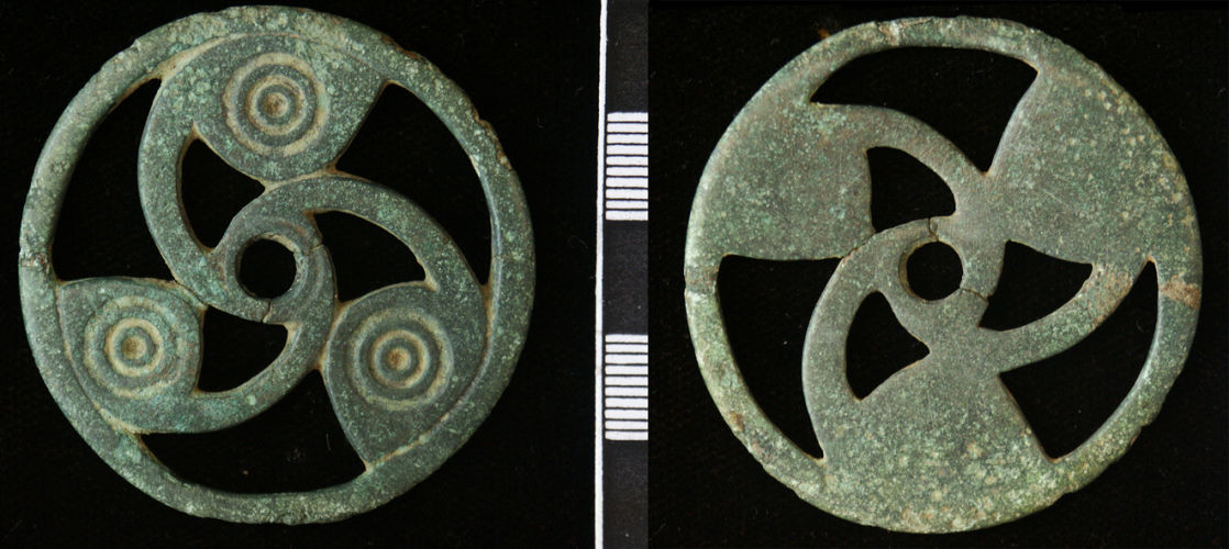 Record Id Nms A2a5d1 Iron Age Strap Fitting