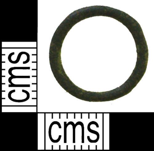 LANCUM-785997: A cast copper alloy ring.