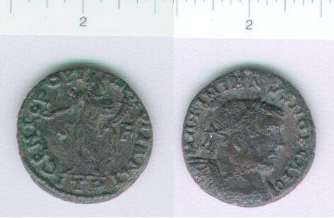 LVPL-E12E47: Bronze coin of Maximian I
