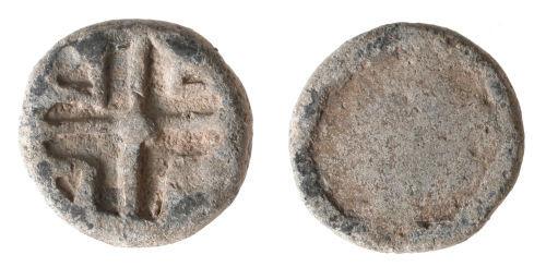 LVPL-ED0634: Post-medieval lead token