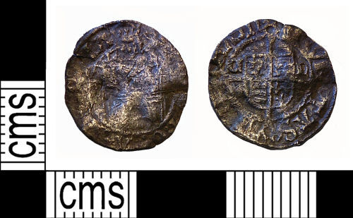 NMS-2A61D6: Post Medieval coin: Henry VIII Sovereign penny