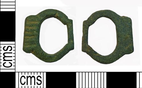 NMS-53C0D4: Medieval single loop buckle