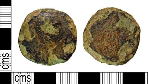 NMS-F33643: Roman coin: Sestertius probably of Severus Alexander