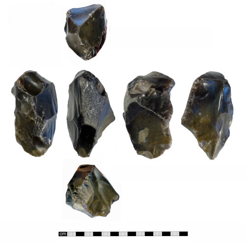 NMS-5BF55E: Palaeolithic Handaxe