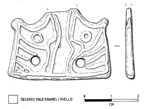 NMS-5675FA: Late Saxon Stirrup mount