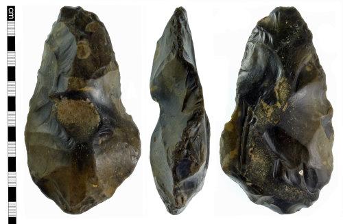 NMS-39110C: Palaeolithic handaxe